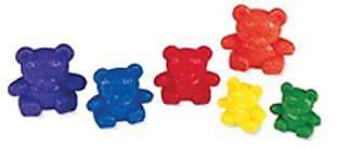 Three Bear Family® Rainbow™ Counters, 6 Colors, Set of 96