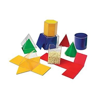 Learning Resources® Folding Geometric Shapes, 16/Set