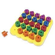 Learning Resources Stacking Shapes Pegboard (LER1572)