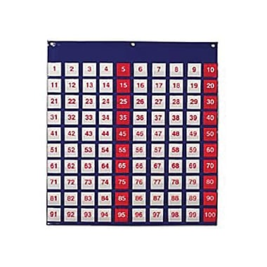 Learning Resources® Hundred Pocket Chart, 27 1/2