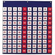 "Learning Resources® Hundred Pocket Chart, 27 1/2""(H) x 26""(W)"