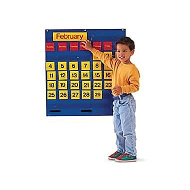 Learning Resources Monthly Calendar Pocket Chart (LER2210)