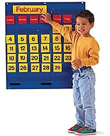 Learning Resources® Monthly Calendar Pocket Chart