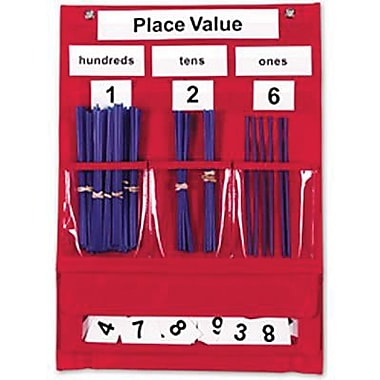 Learning Resources Counting And Place Value Pocket Chart (LER2416)