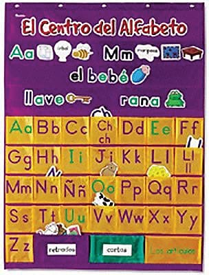 Learning Resources® El Centro Del Alfabeto Pocket Chart