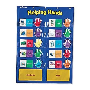 Learning Resources Helping Hands Pocket Chart (LER2903)