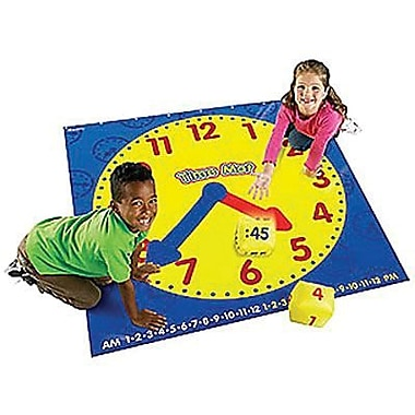 Learning Resources® Time Activity Mat, Grades K+