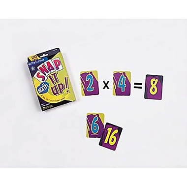 Learning Resources Snap It Up! Multiplication Card Game (LER3041)