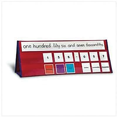 Learning Resources® Place Value Tabletop Pocket Chart