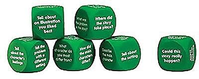 Learning Resources® Retell A Story Cubes