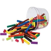 Cuisenaire® Rods Small Group Set, Plastic, Set of 155