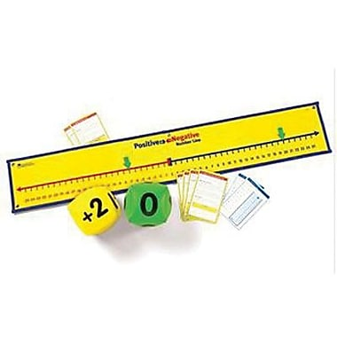 Learning Resources® Positive and Negative Number Line Activity Set, Grades 4th+
