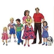 Little Folk Visuals® Flannel Board Set, Caucasian Family