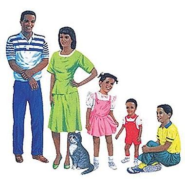 Little Folk Visuals® Flannel Board Set, African-American Family