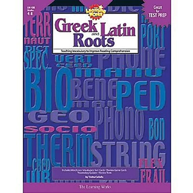 Creative Teaching Press Greek and Latin Roots Book, Grades 4th - 8th