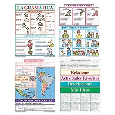 McDonald Publishing Bulletin Board Pack, La Gramatica (MC-B976)