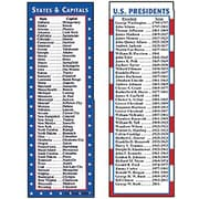 McDonald Publishing States and Capitals and Presidents Smart Bookmarks, 36/pack (MC-K1160)