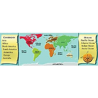 McDonald Publishing® Geography Smart Bookmark, Grades 1st - 6th