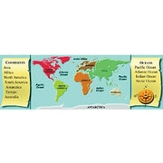 McDonald Publishing® Geography Smart Bookmark, Grades 1st - 6th