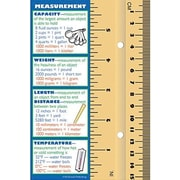 McDonald Publishing® Measurement Smart Bookmark, Grades 4th - 12th