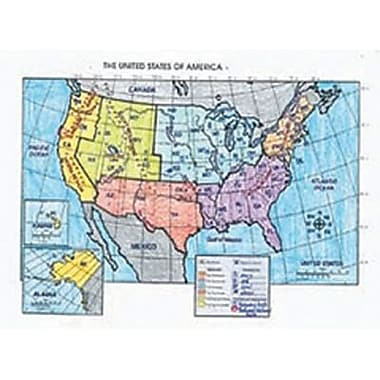 McDonald Publishing® Activity Poster, The United States Map