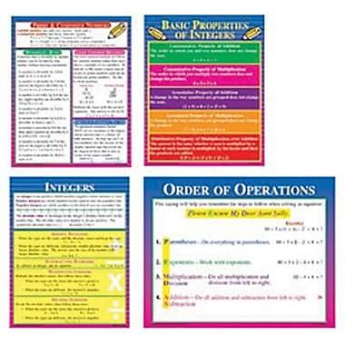 McDonald Publishing Poster Set, Pre-Algebra, 9/Set (MC-P141)