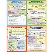 McDonald Publishing® Poster Set, Algebra Teaching