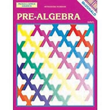 McDonald Publishing Pre-Algebra Reproducible Book, Grade 6 - 9 (MC-R470)
