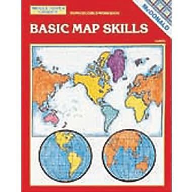 Basic Map Skills Reproducible Book, Grades 6–9