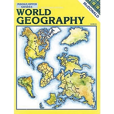 McDonald Publishing World Geography Reproducible Book, Grade 6 - 9 (MC-R656)