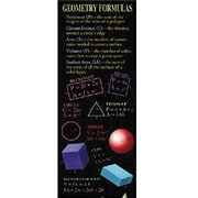 McDonald Publishing® Colossal Poster, Geometry Formulas