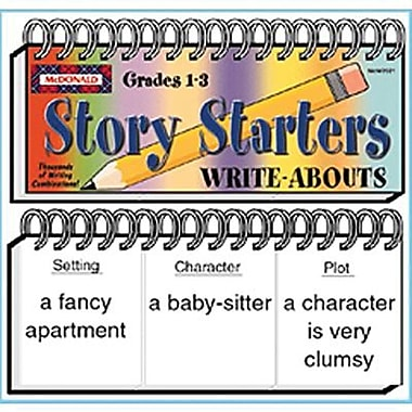 McDonald Publishing Story Starters Write-Abouts Booklet, Grade 1 - 3 (MC-W2021)