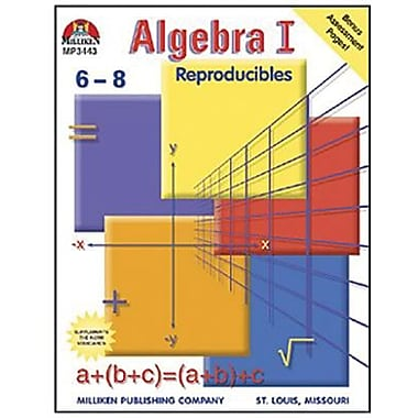 Milliken & Lorenz Educational Press Algebra I Reproducible Book, Grade 6 - 8 (M-P3443)