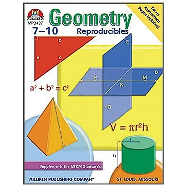 Lorenz Educational Press® Geometry Reproducible Book, Grade 7 - 10 (M-P3497)