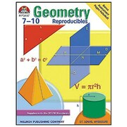 Milliken & Lorenz Educational Press Geometry Reproducible Book, Grades 7th - 10th