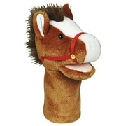 "Get Ready Kids® Bigmouth Plush Pups Horse Hand Animal Puppets, 12"", 2 EA/BD"
