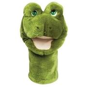 "Bigmouth PlushPups Hand Puppet, Frog , 12"" tall"