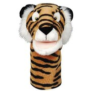"""Get Ready Kids® Bigmouth Plush Pups Tiger Hand Animal Puppets, 12"""", 2 EA/BD"""