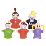 Hand Puppets, How Am I Feeling, Caucasian, Set of 5