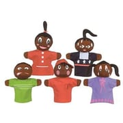 Get Ready Kid's® How Am I Feeling, African American Hand Puppets, 5/Pack (MTB421)