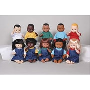 Multi-Ethnic School Doll, Black Girl (MTC111)