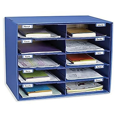 Pacon® Classroom Keepers® Blue Mailbox, 10 Slots