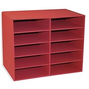 Pacon® Classroom Keepers® Red Shelf Organizer With 10 Slots
