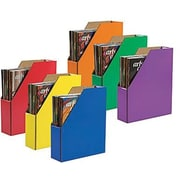 "Magazine Holder, Assorted Colors, 12-3/8"" x 3-1/8"" x 10-1/4"""
