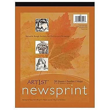 Pacon® Art1st® White Newsprint Paper Pads