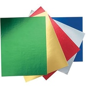 Pacon® Peacock Metallic Foil Poster Board, Assorted