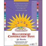 """Pacon SunWorks Construction Paper 18"""" x 12"""", Violet (PAC7207)"""
