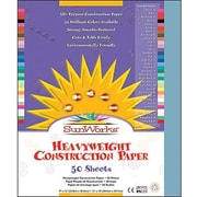 "Pacon Sunworks Construction Paper 12"" x 9"", Sky Blue, 600/Pack (PAC7603)"