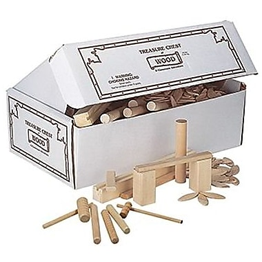 Pacon® Treasure Chest of Wood, Assorted (PAC25330)