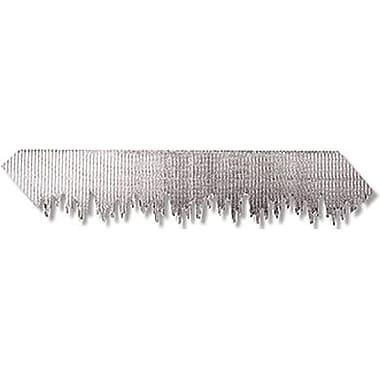 Pacon Bordette Pre School - 12th Grade Decorative Border, Silver Metallic Icicles (PAC37710)
